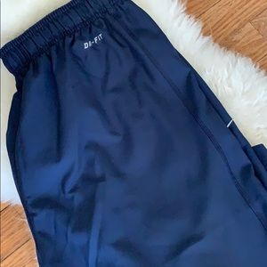 Nike Pants - Nike men's dri-fit pant navy size M